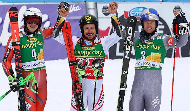 Marcel Hirscher Takes Victory in Kranjska Gora and the Giant Slalom Globe