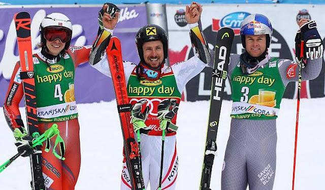 Marcel Hirscher Takes Victory in Kranjska Gora and the Giant Slalom Globe
