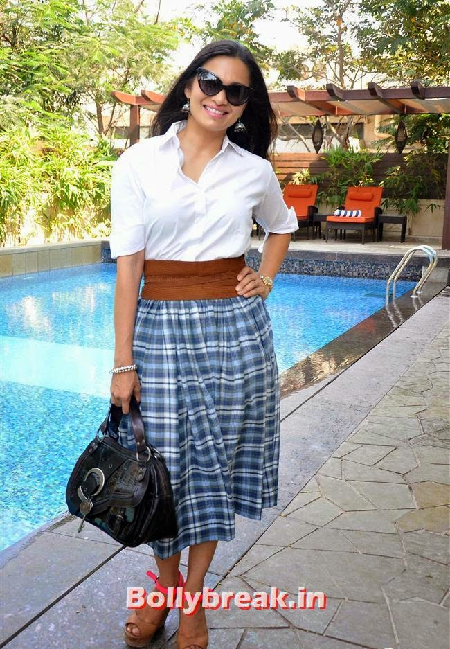 Maria Goretti, Bollywood Page 3 Celebs at Sheetal Nahar Brunch Party