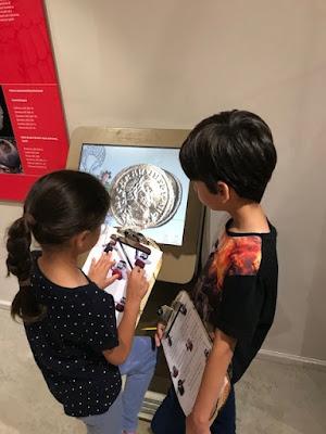 Corinium Museum interactive game, Cirencester