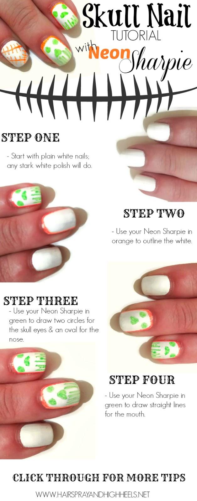 Sharpie Manicure