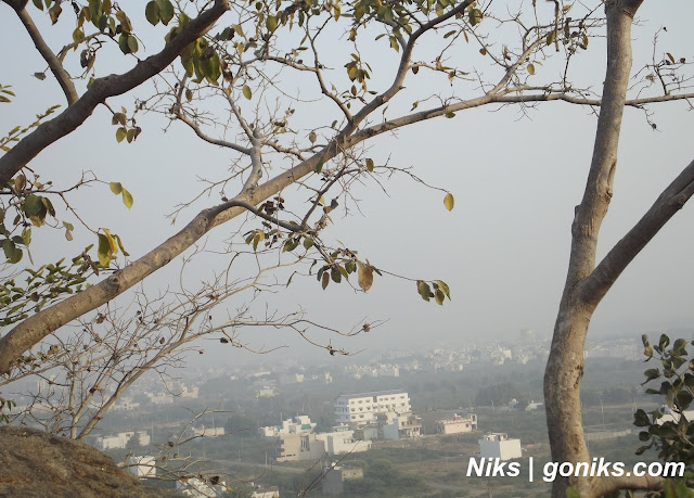 a view of bhilwara city