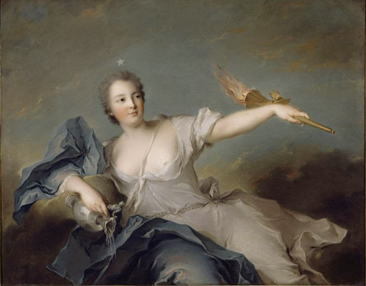 Marie Anne de Mailly-Nesle by Jean-Marc Nattier, 1740