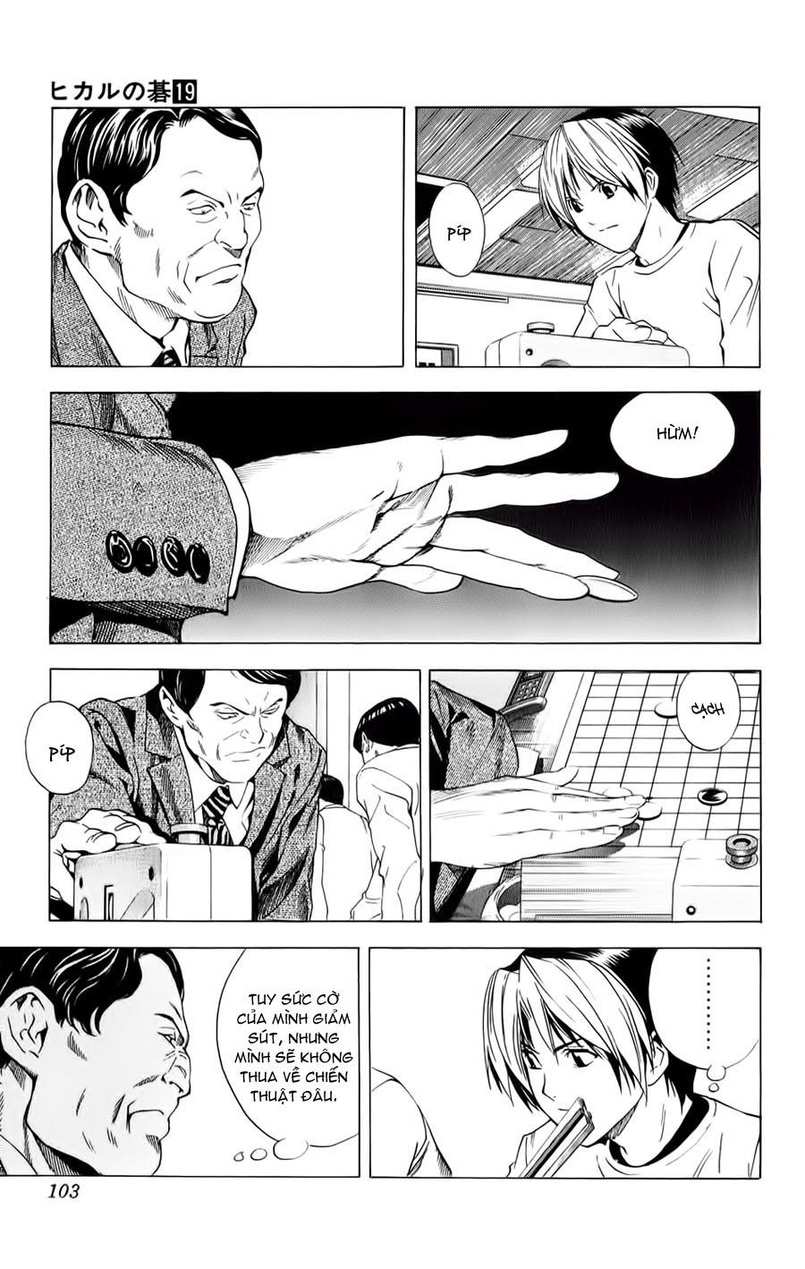 Hikaru No Go hikaru no go chap 152 trang 21