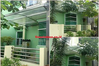 Repeat Order Bpk Yasman Pembuatan Canopy Stainless Taman Cipayung Depok Dua