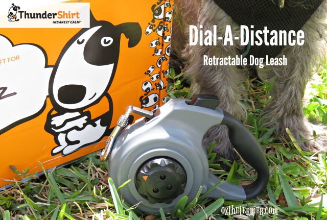 new ThunderShirt Dial-A-Distance retractable dog leash