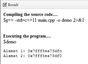 Pointer Bahasa Pemrograman C++
