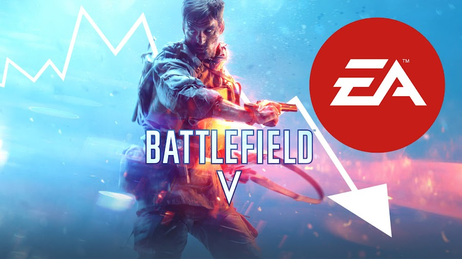 battlefield 5 delay ea stock drop