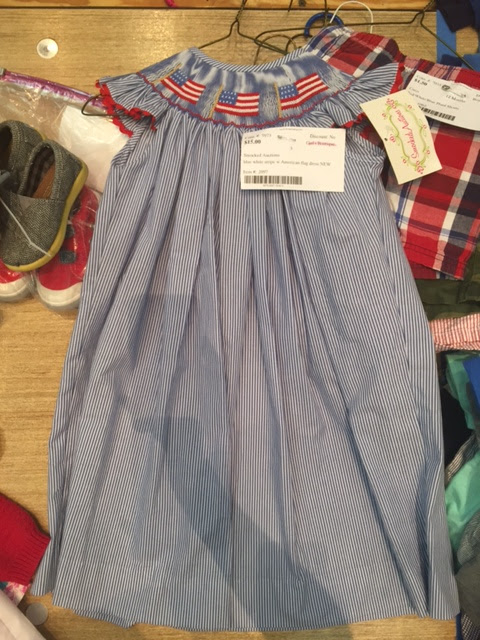 smocked dresses JBF consignment sale
