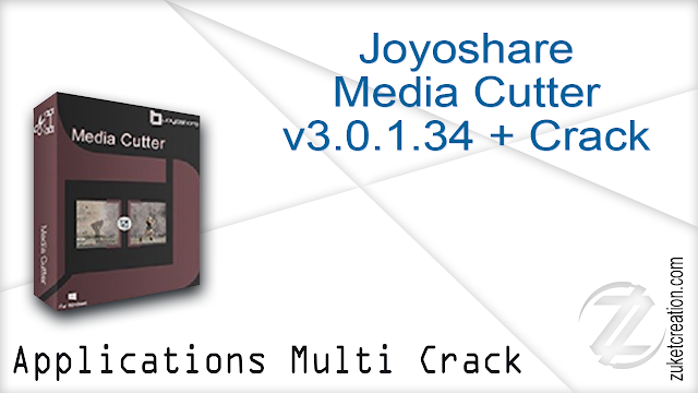 Joyoshare Media Cutter v3.0.1.34 + Crack