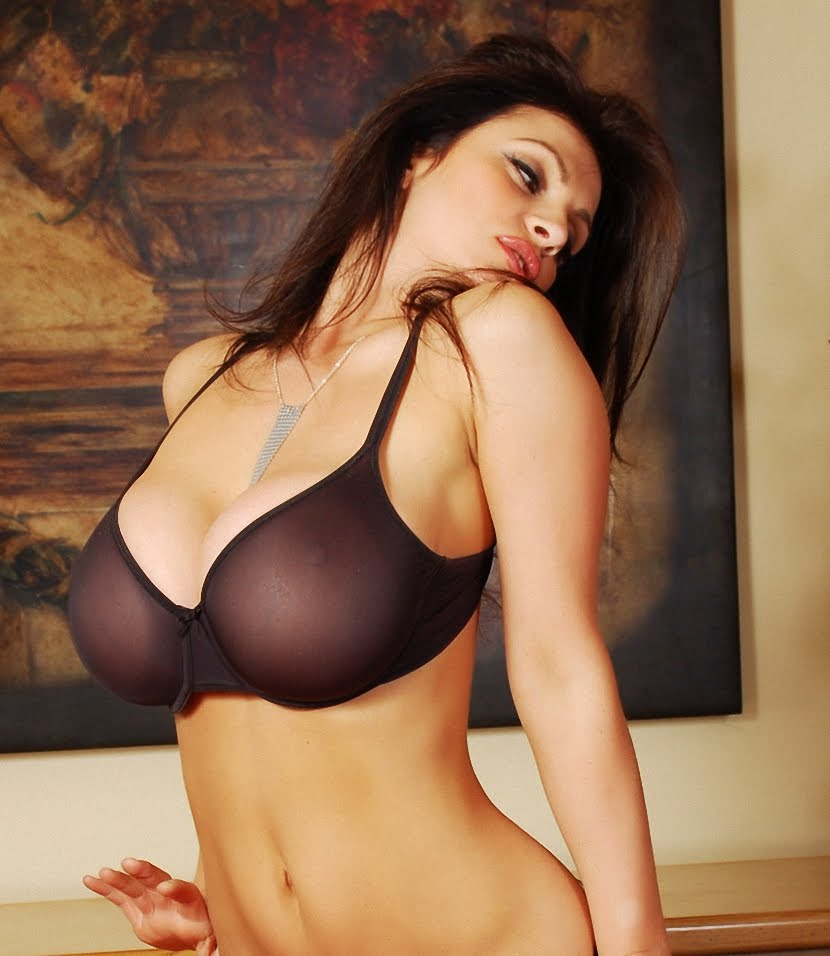 Denise milani nipple slip