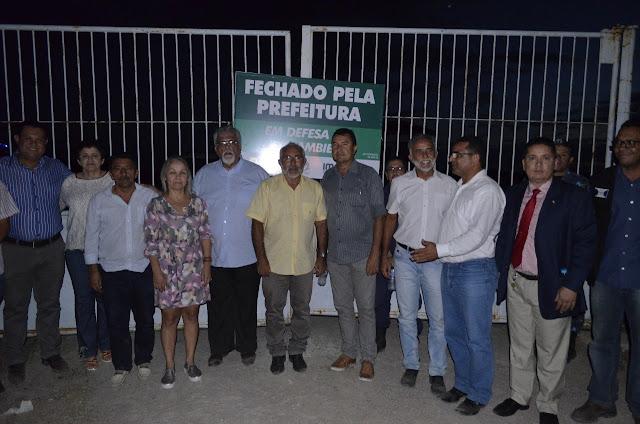Parlamentares delmirenses participam de atividades com o Ministério Público