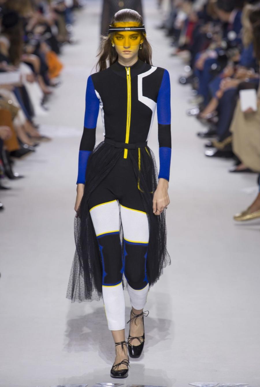 Enger Sportanzug bei Dior, Frühjahr/Sommer 2018