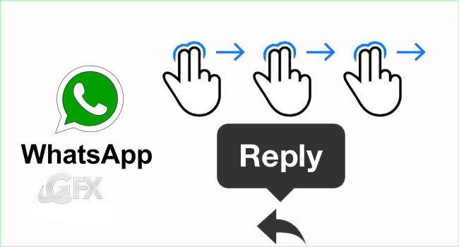 Whatsapp Feature Swipe to Reply - www.ceofix.net