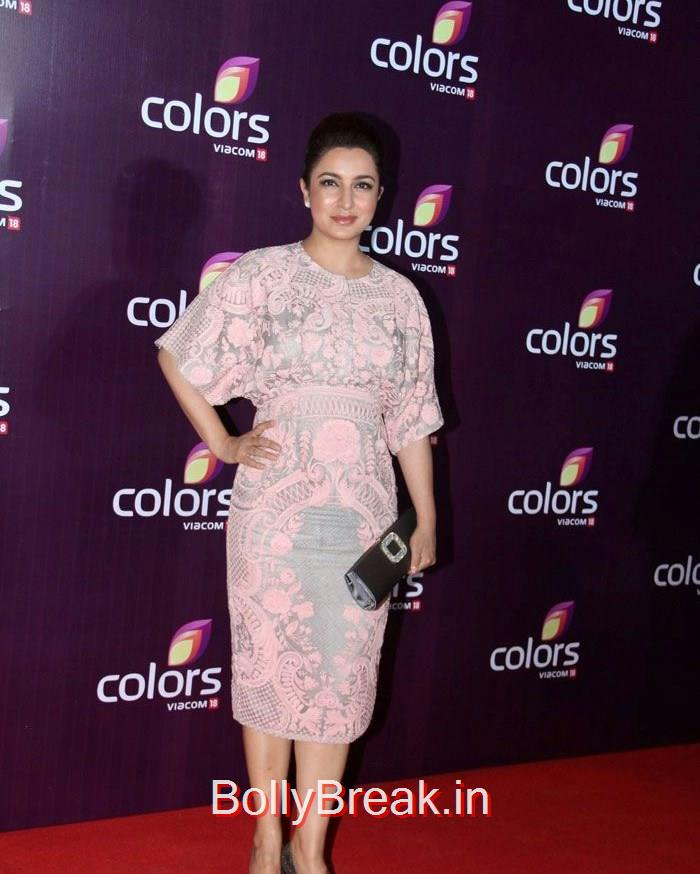 Tisca Chopra, Malaika Arora Khan Sridevi Hot HD Images At Colors Leadership Awards 2015