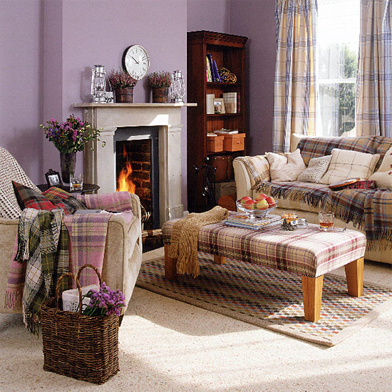 highland themed living room new home interior design traditional living room 12942