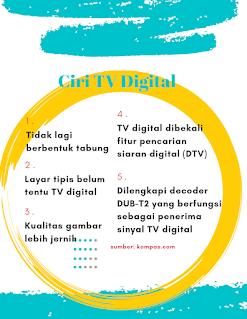 Ciri-ciri tv digital