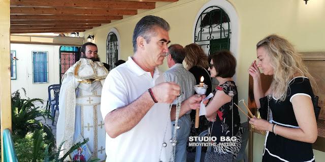 Ο Σύλλογος Νεφροπαθών Αργολίδας τίμησε την Παναγία την Γιάτρισσα
