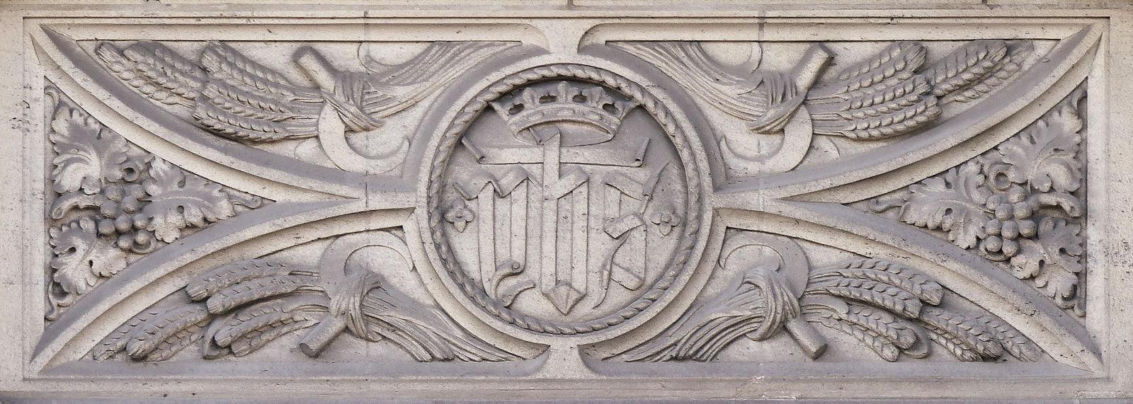 Chapelle du Voeu, Tourcoing - Monogramme YHS