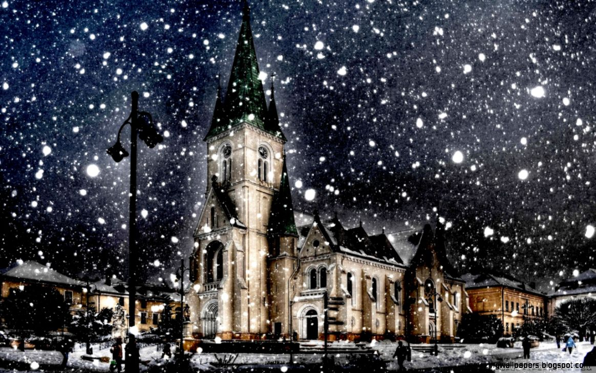 Winter City Backgrounds Amazing Wallpapers