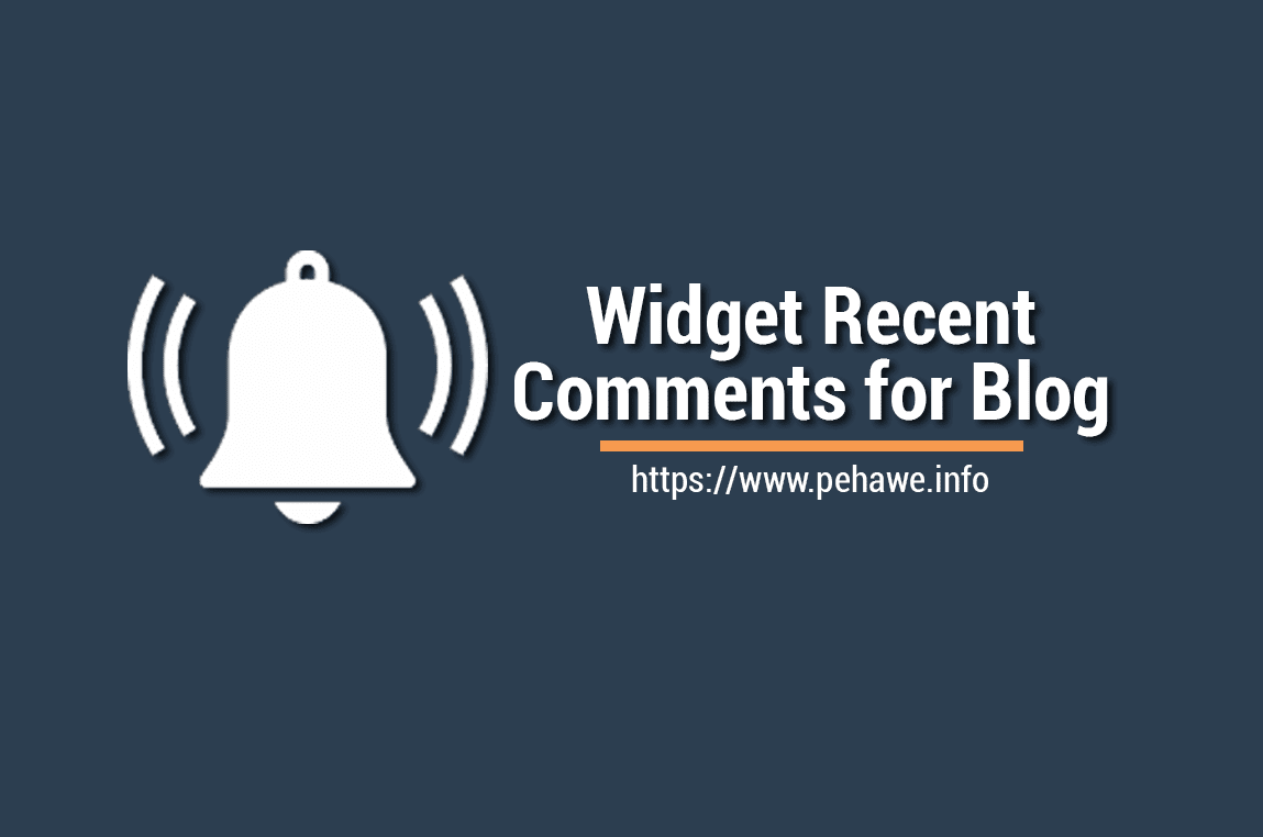 Cara Membuat Widget Recent Comments Disqus di Blog AMP dan Non AMP