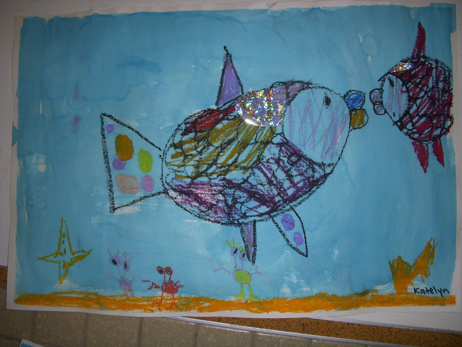 Live Laugh Learn R Is For Rainbow Fish
