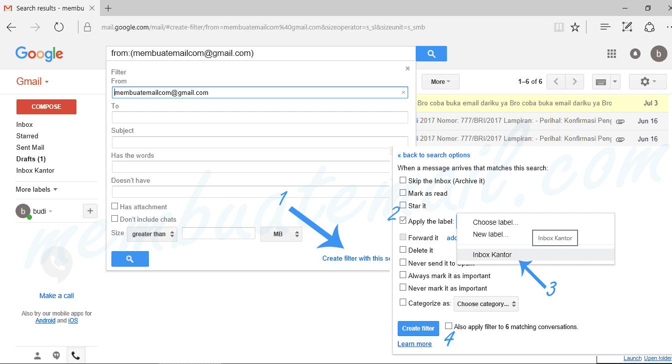 cara-email-filter-gmail