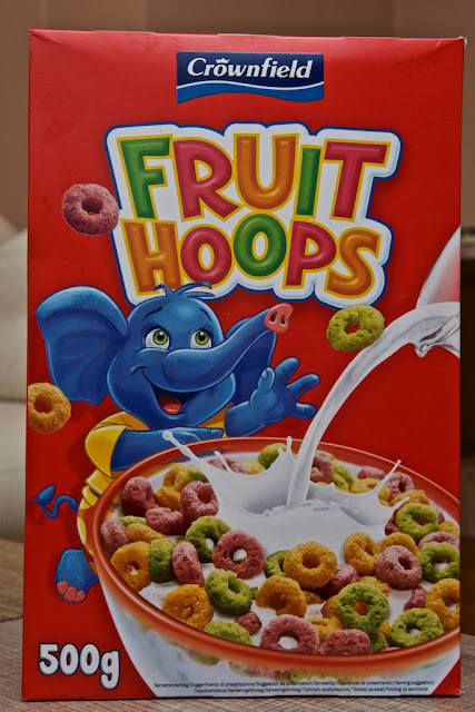 Fruits Hoops - Crownfield - Froot Hoops - Lidl - Breakfast cereals - Discount