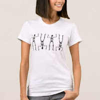 Silly Skeletons t-shirt by Mindful Humanism