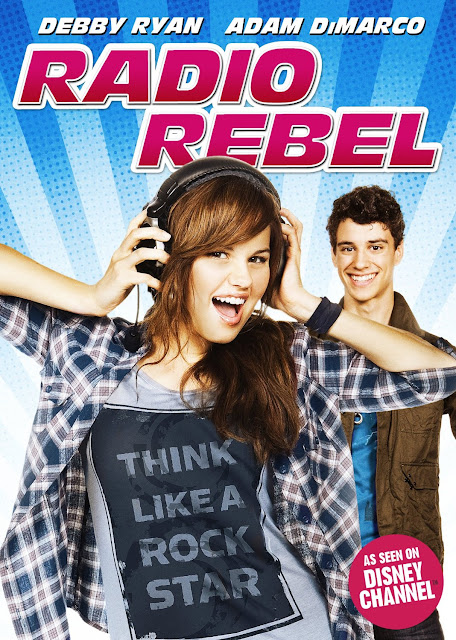http://www.amazon.com/Radio-Rebel-Debby-Ryan/dp/B007I8KXDQ