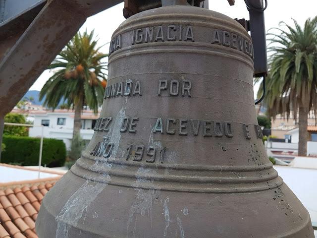 Resultado de imagen de campanas de parroquia ntra. sra. de guadalupe. Los realejos