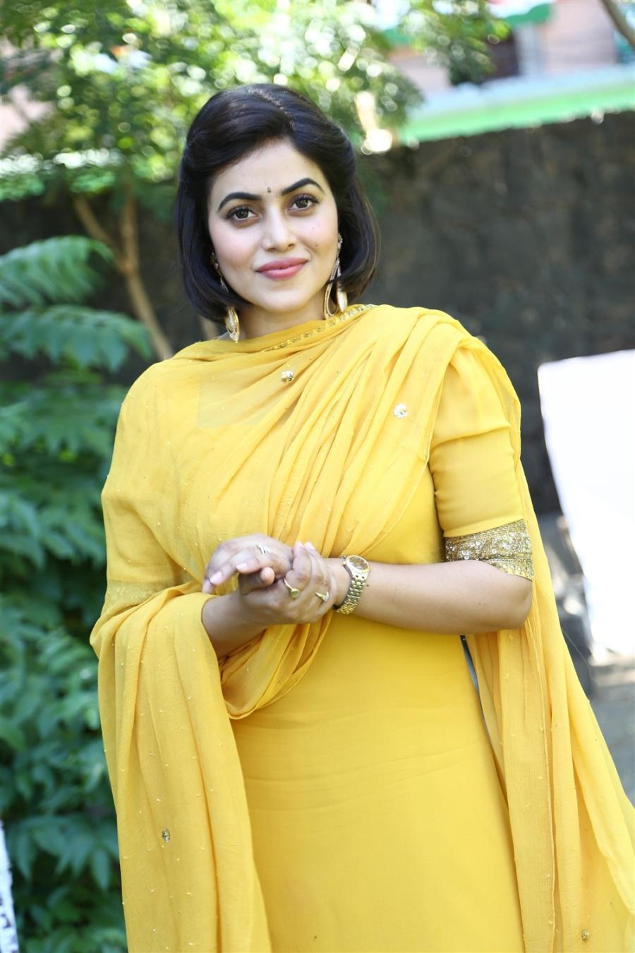 Actress Poorna At Sambavam New Telugu Movie Launch Stills