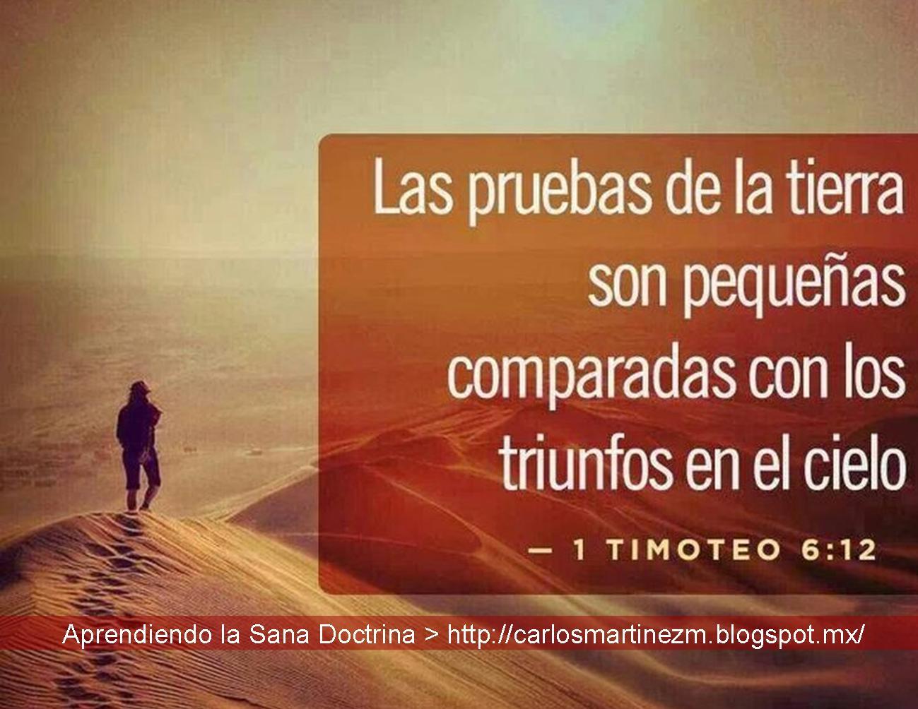 Aprendiendo La Sana Doctrina 1 Timoteo 6 12