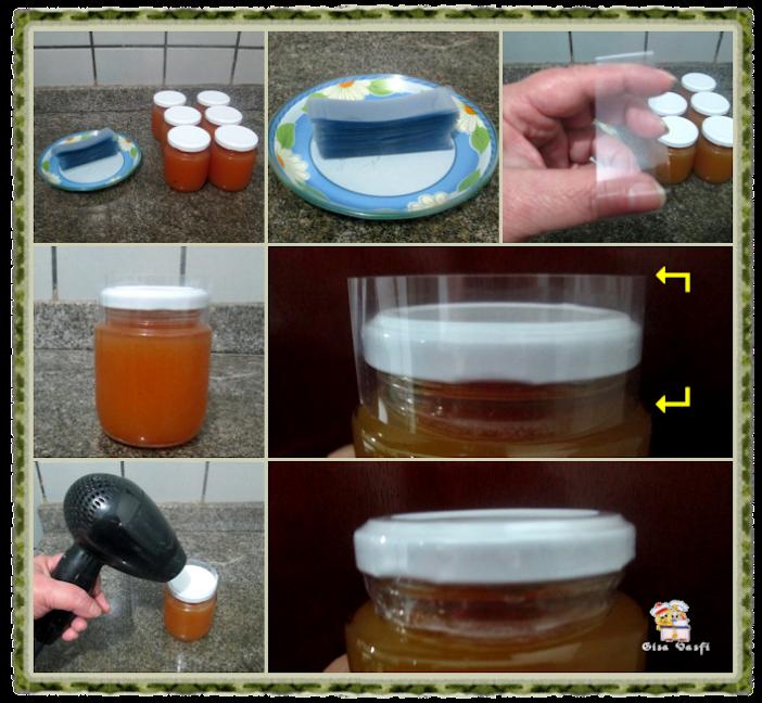 Geleia de pêssegos 6
