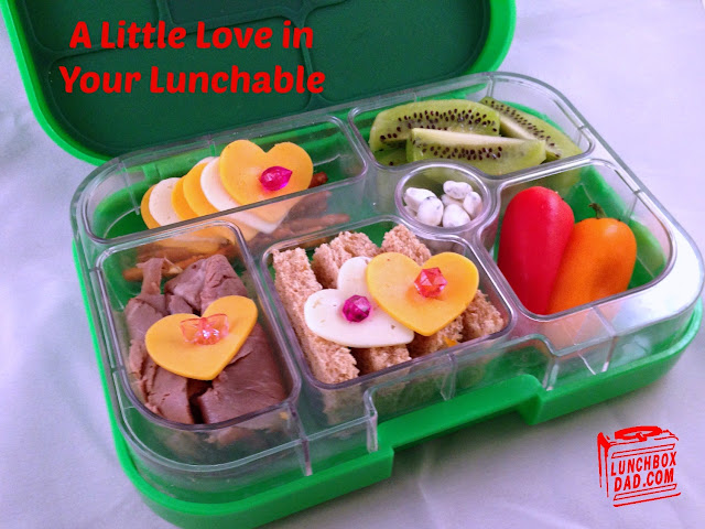 Homemade lunchable style bento kids lunch