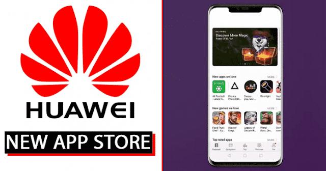 Huawei constrói sua nova Play Store