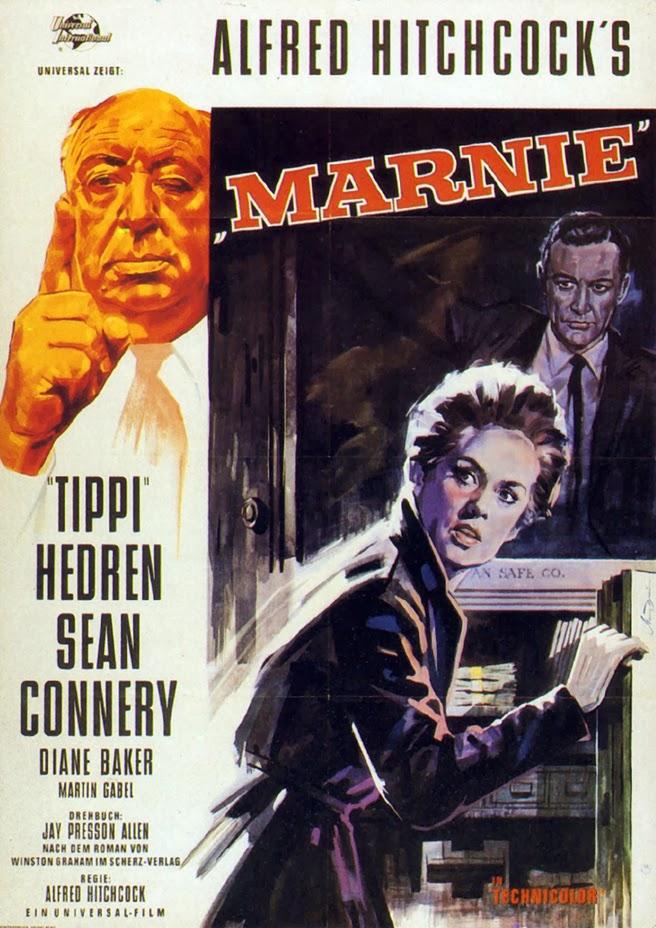 Η αφίσα της ταινίας Marnie