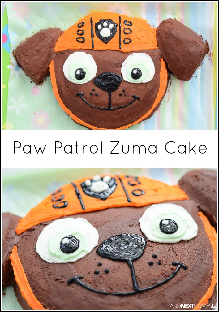 Paw Patrol Zuma Cake And Next Comes L