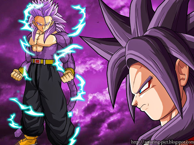 Fairy Tail Girls Wallpapers Trunks Super Saiyan 4 Wallpaper Amazing Picture