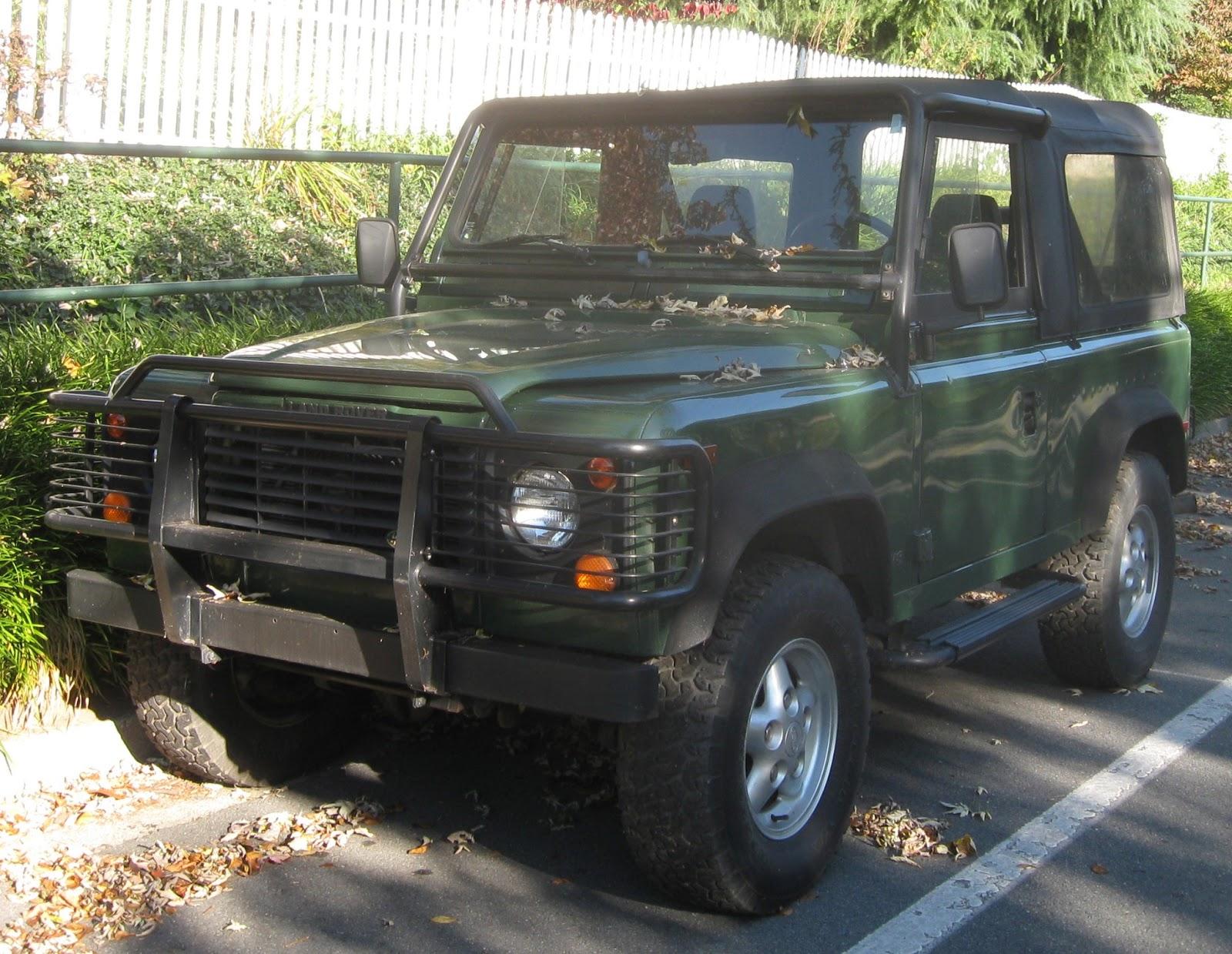 Automotive Database Land Rover Defender