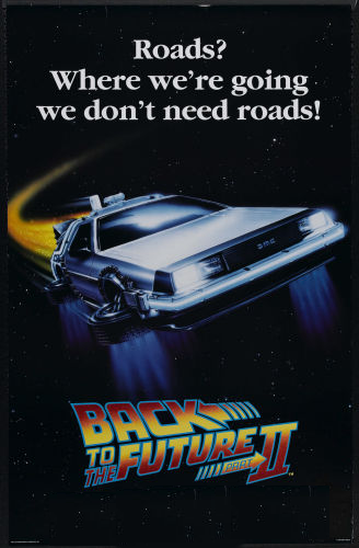30 years ago we had time travelling Deloreans that could fly