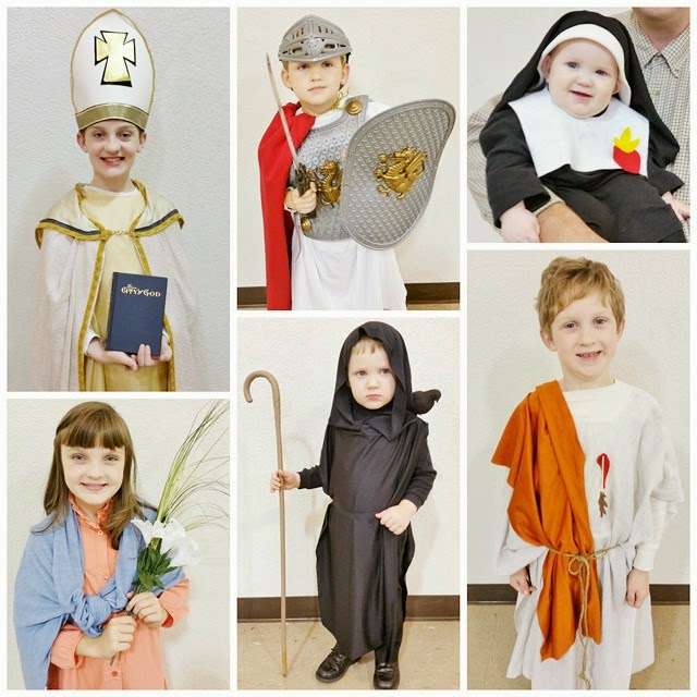 Each one of these costumes is truly stunning. Seriously. How lucky are your kids? But Iu0027m pretty sure Our Lady of the Assumption has LIGHTS in her CLOUDS.  sc 1 st  Catholic All Year & Catholic All Year: Over 150 All-Saints Day Costumes for Kids