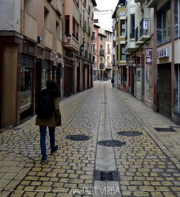 Casco antiguo en Tudela, Navarra. Viajaetverba