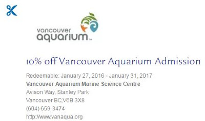 Vancouver aquarium discount coupons