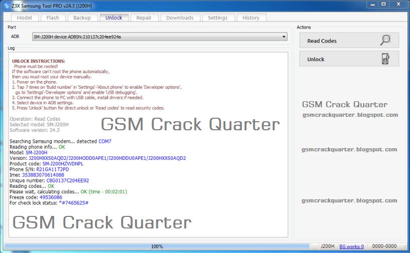 Z3X Samsung Tool PRO 27 2 Cracked || 100% Working & Free -- GCQ