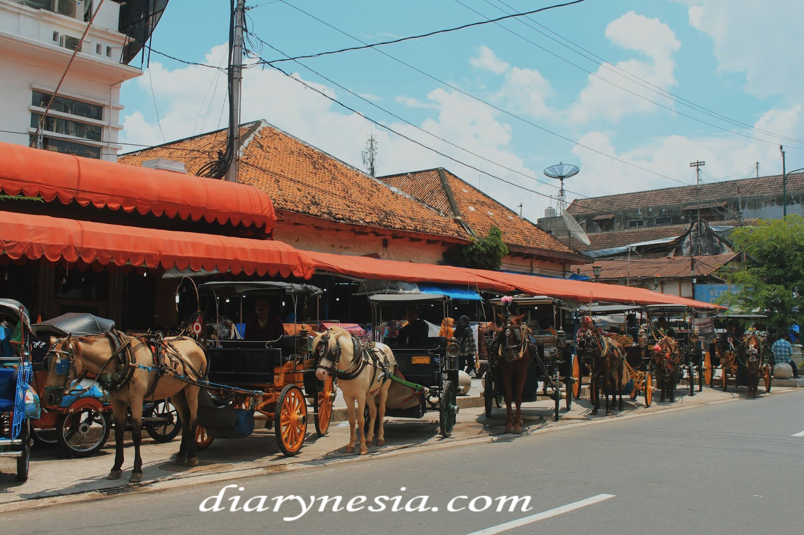 Malioboro street best place to shopping souvenirs and local food culinary