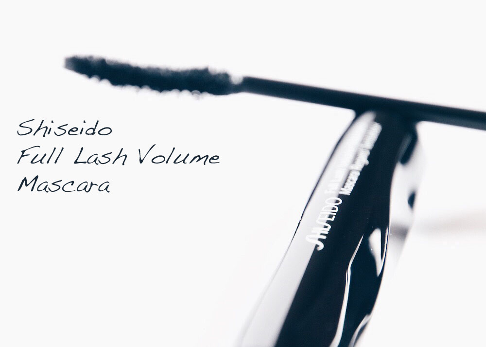 shiseido full lash volume mascara avis test