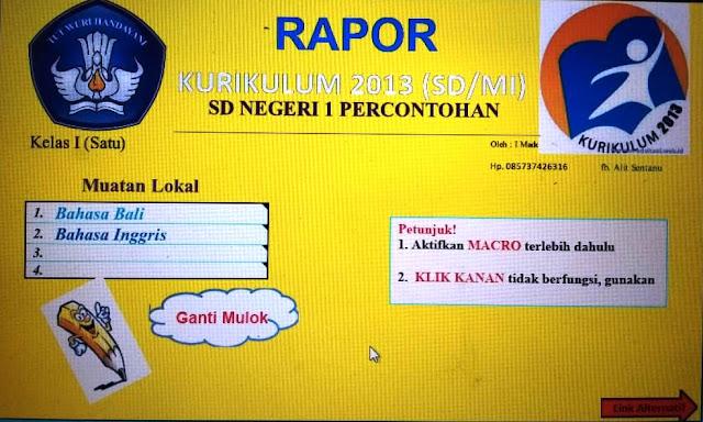 rapor k13