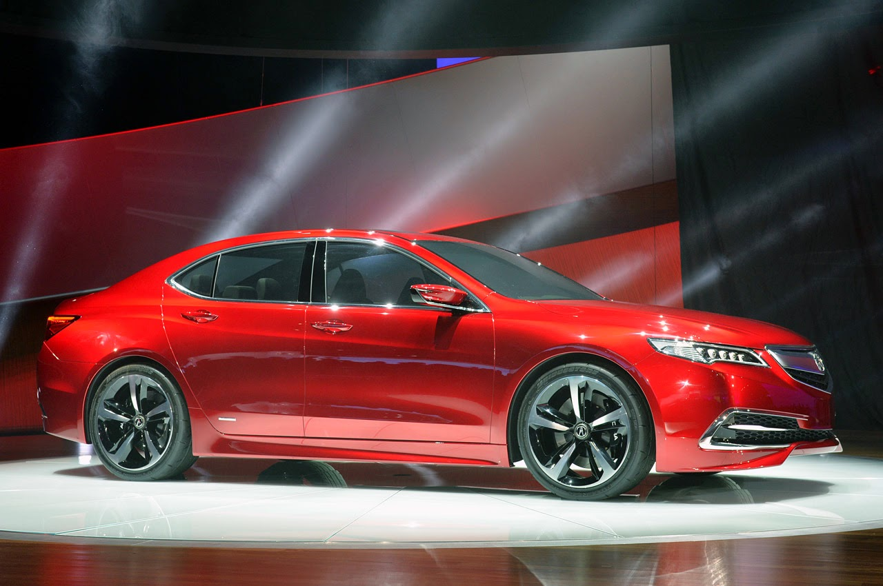© Automotiveblogz: 2015 Acura TLX Prototype: Detroit 2014