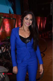 Actress Naina Ganguly Stills in Blue Dress at RGV Shiva to Vangaveeti Event  0032.JPG